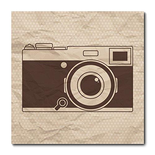 Placa Decorativa - Câmera Fotográfica - 0710plmk