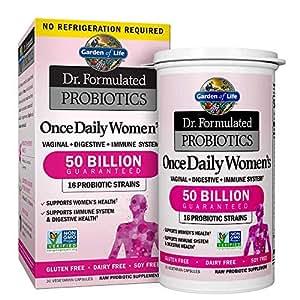 Garden of life dr formulated probiotics for - Garden of life once daily women s probiotic ...