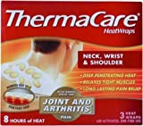 SPECIAL Pack of 5 -THERMACARE NECK/SHLD/WRIST 8HR 1EA PFIZER CONS HEALTHCARE NO POST