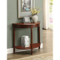 Convenience Concepts 6042182ES French Country Entryway Table, Espresso