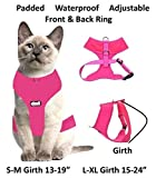 Dexil Luxury Cat Harness Padded and Water Resistant