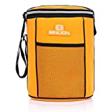 Binlion Insulated Soft Sided Lunched Cooler Bucket (Orange)