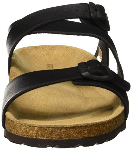 Grunland and Nero Women's Pool Beach Shoes Sara Black Nero rznvWrOgS