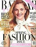 Harper's Bazaar March 2016 Spring Fashion Issue Drew Barrymore