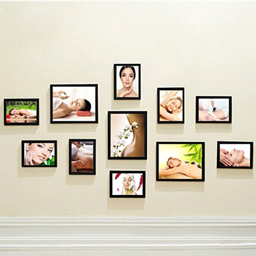 Home@Wall photo frame Beauty Salon Decoration Painting Body Paintings Health Club SPA Club Chinese Medicine Scraping Massage Mural Photo Frame Photo Wall (Color : C) by ZGP (Image #2)