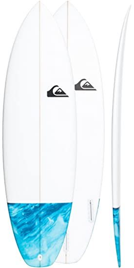 Quiksilver Euroglass Surfboard Mini Ripper 56 Blue Topaz