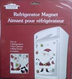 Large Magnetic Santa Claus Refrigerator Decoration