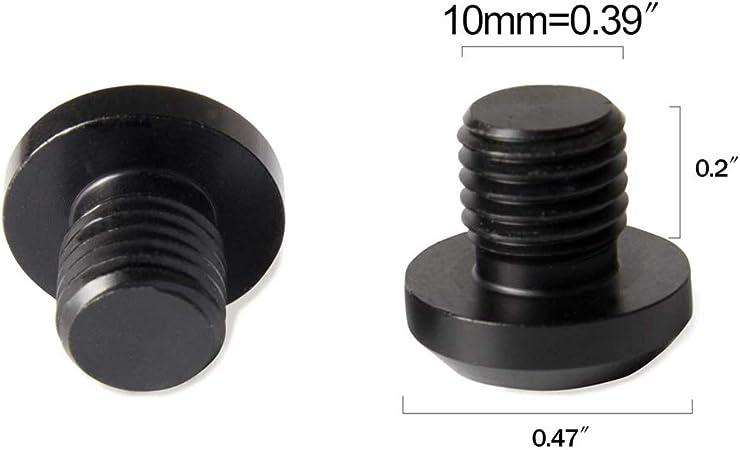 Katigan 4 Piezas M10X1.25 Tapones de Orificio de Espejo para FZ-09 FZ-07 CRF250