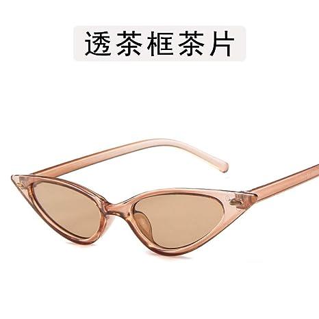 Yangjing-hl Gafas de Mujer Gafas de Sol de Caja Grande Gafas ...