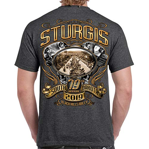 Biker Life Clothing 2019 Sturgis Black Hills Rally Main Street Engine ()