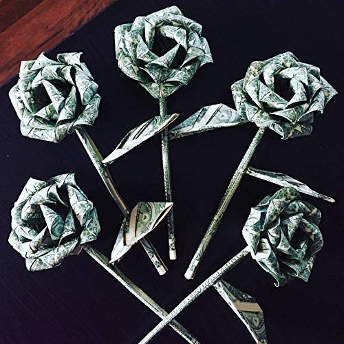 Easy and Beautiful Money FLOWER | Origami Dollar Tutorial ... | 500x500
