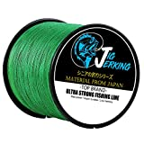 Jig Jerking SUPER POWER 4/8 Strands Braided Fishing Line 100% PE with ZERO Stretch & Abrasion Resistant (500M/547Yds 20Lb 30Lb 50Lb 80Lb 100Lb) – MUST HAVE ! For Sale