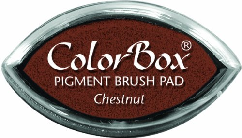 (CLEARSNAP ColorBox Pigment Cat's Eye Inkpad, Chestnut)