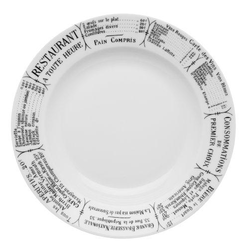 (Pillivuyt Brasserie Plate, 10.5