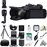 Canon XA20 Professional HD Camcorder + Expo-Basic Accessories Kit