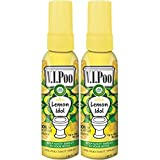 Air Wick V.I.Poo Toilet Perfume Spray, Lemon Idol, 2ct (2X1.85oz)