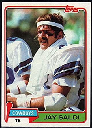 Football nfl 1981 topps 53 jay saldi cowboys for Saldi thun amazon