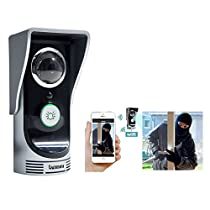 Wireless WiFi Smartphone Remote Video IR Camera Doorbell Home Security Intercom