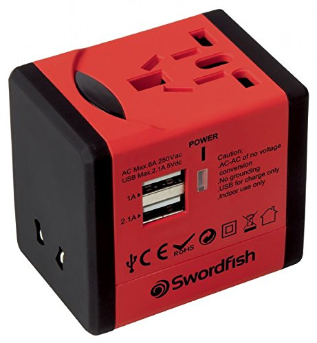 Universal Travel Adaptor with USB