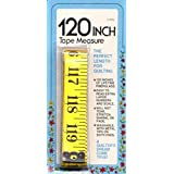 120 Quilters Tape Measure with Centimeters by Colonial