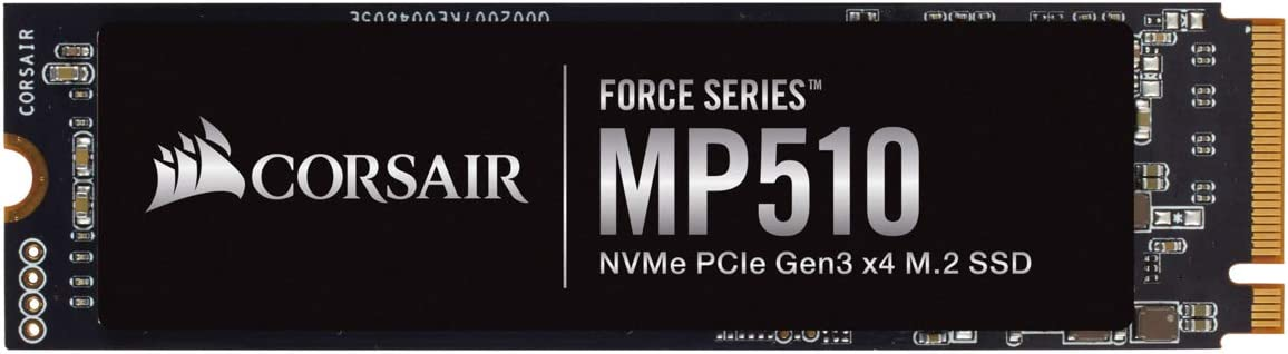 CORSAIR FORCE Series MP510 1920GB NVMe PCIe Gen3 x4 M.2 SSD Solid State Storage, Up to 3,480MB/s