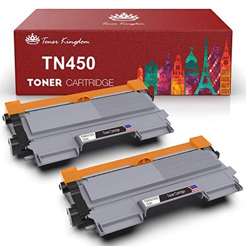 2PK TN450 TN420 for Brother Black Toner Cartridge HL-2240 HL-2270DW High Yield