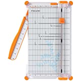 Fiskars 152490-1004 SureCut Deluxe Craft Paper Trimmer, 12 Inch
