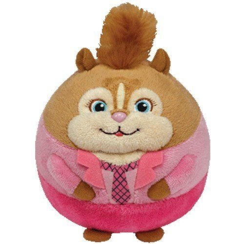 Ty Beanie Ballz 5'' Plush BRITTANY of ALVIN & The Chipmunks Chipette Ball ~NEW~ PrS