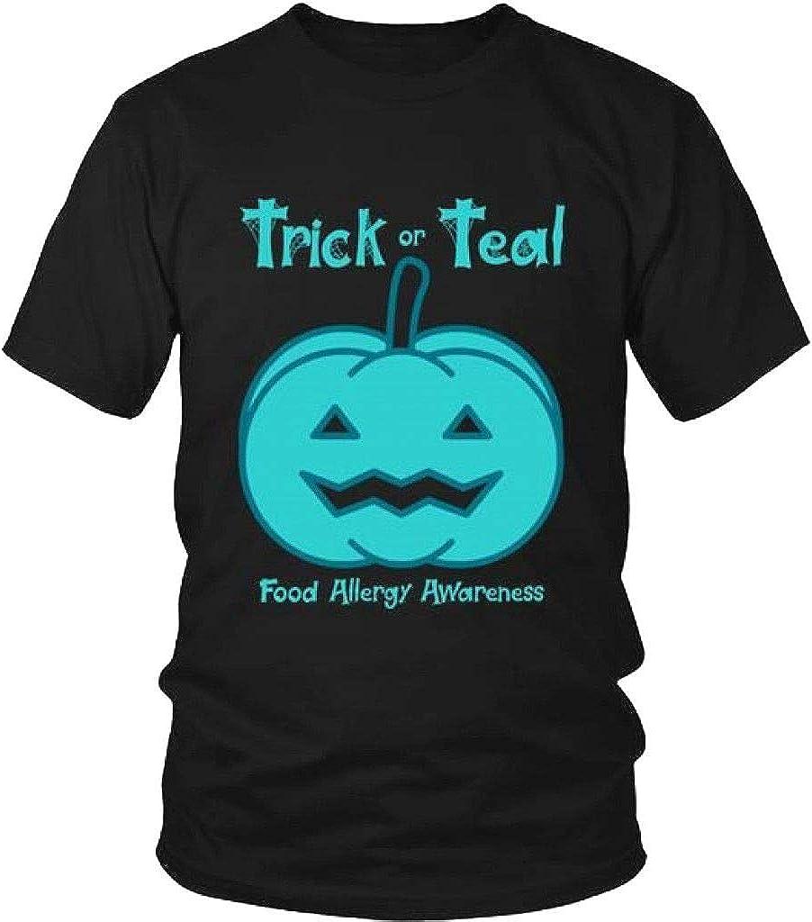 Teal Pumpkin Halloween Food Allergy Awareness Trick Or Treat T Shirt