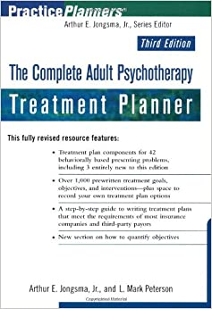 Book The Complete Adult Psychotherapy Treatment Planner (PracticePlanners)