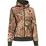 Under Armour UA Camo Full Zip Hoody - Womens Realtree AP-Xtra / Perfection Medium