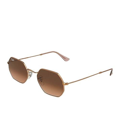 Amazon.com: Ray-Ban RB3556N Octagonal - Gafas de sol, Marrón ...