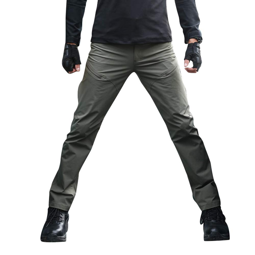 Eagle Claw OEC Tactical Pants Outdoor Quick Dry Urban Causal Trousers for Men (33W-41L, Celadon)