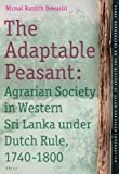 The Adaptable Peasant : Agrarian Society in Western Sri Lanka under Dutch Rule, 1740-1800, Dewasiri, Nirmal Ranjith, 9004165088