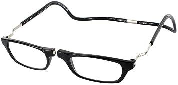 120ce153a5 Amazon.com  Clic Magnetic XXL Reading Glasses in black