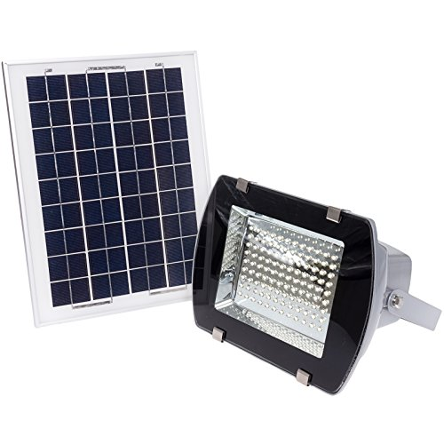 108 LED Solar Power Wall Mount Flood Light by Reusable Revolution