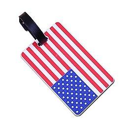 Lovely Rubber Card Holder Credit Card Case ID Card Holder, American Flag