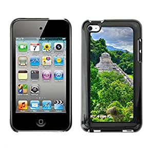 Print Motif Coque de protection Case Cover // V00002641 Palenque antiguos templos // Apple ipod Touch 4 4G 4th