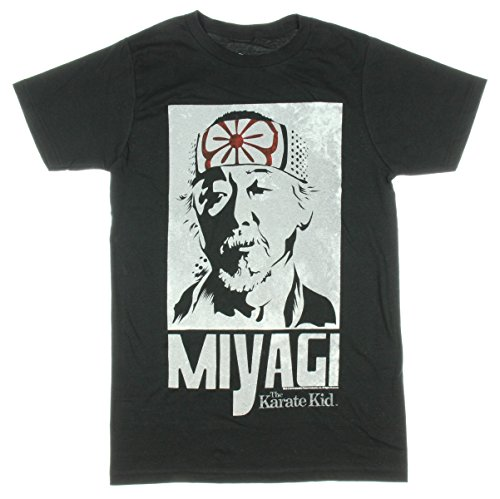Karate Kid Mr Miyagi Licensed Graphic T-Shirt - Small ()