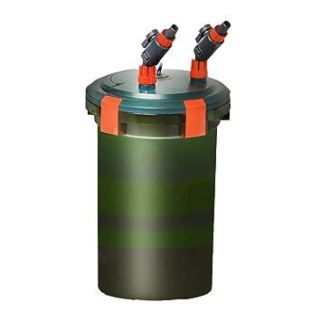 LIFUREN Filtro de pecera Cubo de Filtro Externo Lazo Agua Limpia Equipo Colgando Filtración Multicapa Agua