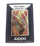 Zippo Custom Lighter - Pipe Logo Fuzion - High