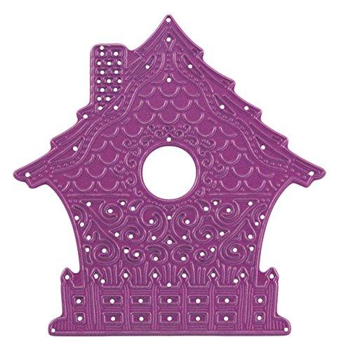 Cheery Lynn Designs B558 Fancy Bird House Die Cut