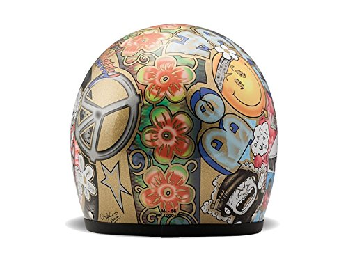 DMD Gr/ö/ße Helmschale aus Glasfaser Woodstock S