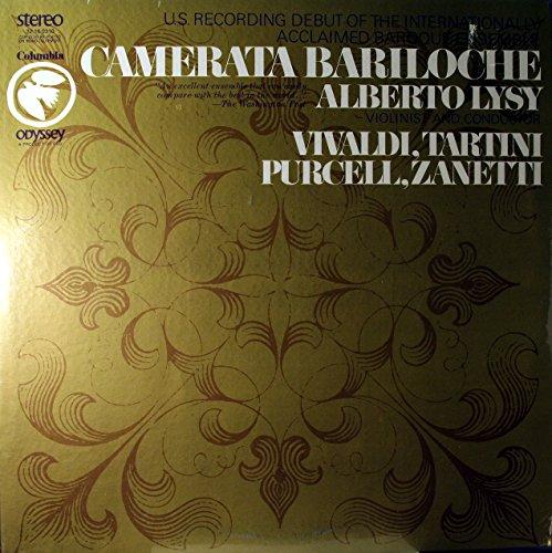 - VIVALDI / TARTINI / PURCELL / ZANETTI - vinyl lp. GASPARO ZANETTI: MUSIC FORM