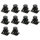 Rugjut 10pcs Joystick Breakout Module Game Controller for Arduino PS2
