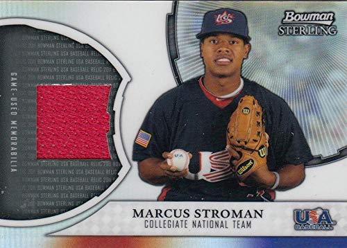 2011 Sterling USA Baseball Relics #MS Marcus Stroman NM-MT+ MEM from Sterling