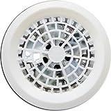 Exaustor 25cm Branco Luxo - Banheiro - Cozinha - Residência Loren Sid Bivolt