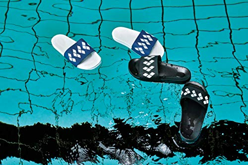 Arena blue Blue Badeschuhe Slide 2018 Sandals Team Stripe white Unisex qgvOqAF