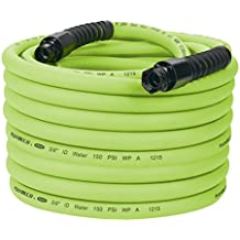 Flexzilla Pro Water Hose with Reusable Fittings, 5/8 in. x 100 ft., Heavy Duty, Lightweight, Drinking Water Safe  - HFZWP5100