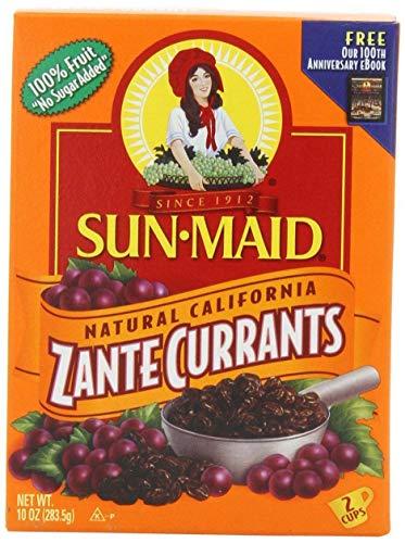 Sun Maid Zante Currants, No Sugar Added, 10 oz (Pack of 1) -